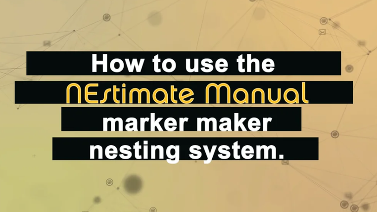 Save fabric and material during your sample making and production process with the NEstimate-Marker-