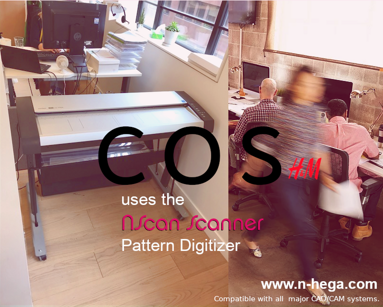 COS (part of H&M Group) is using the NScan Pattern Digitizer to reduce their lead time.