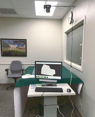 NShot Digitizing Station at Texas Tech University.