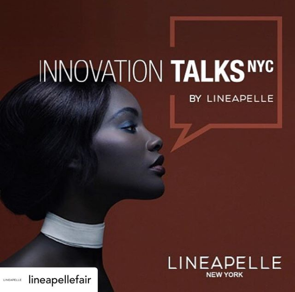 Oh yeah we are going! #innovationtalks at @LineapelleFair : Be updated on the most recent market and