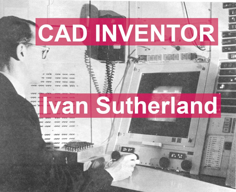 Did you know? CAD was invented by Ivan Sutherland in 1961.
