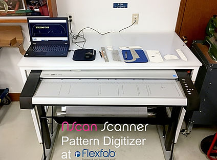 NScan Scanner Digitizer at FlexFab