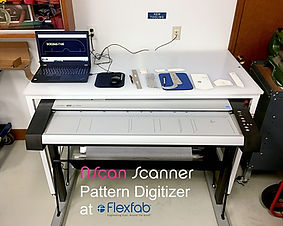 Flexfab NScan Scanner Pattern Digitizer