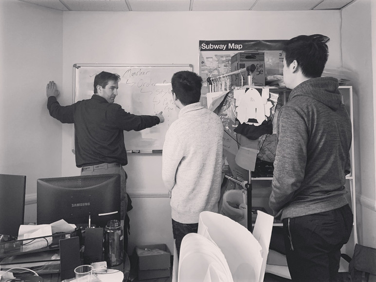 Friday meetings with the development team. We are developing new tools that will help our client inc