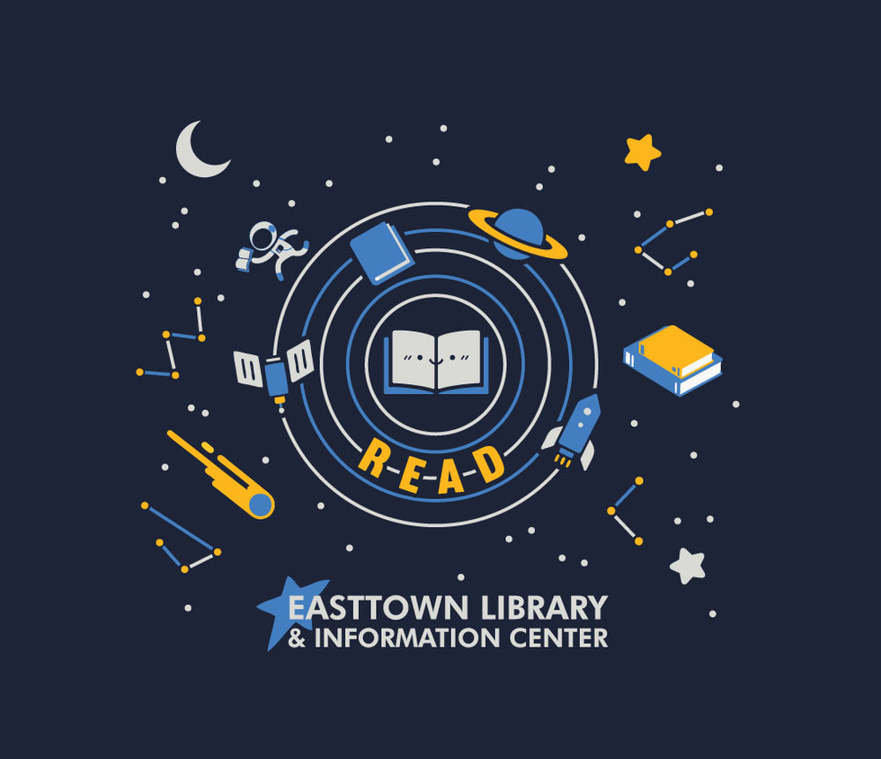 easttown library summer reading t shirt 2019