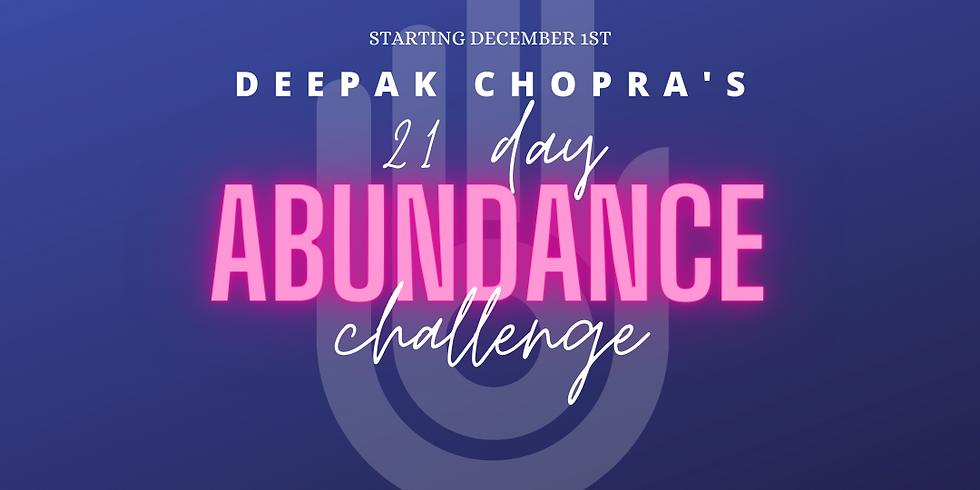 21 Day Abundance Challenge