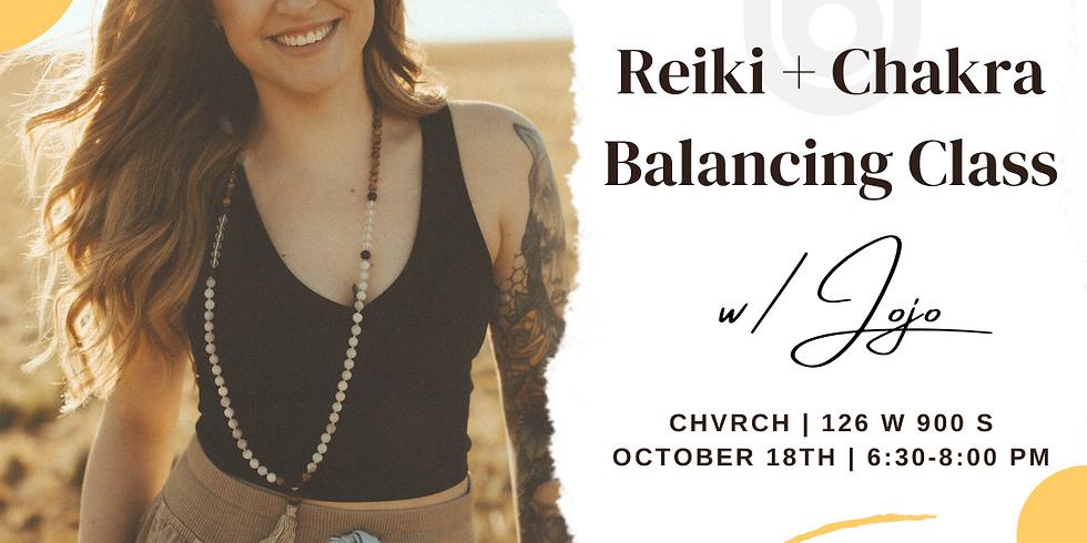 Reiki + Chakra Balancing Class