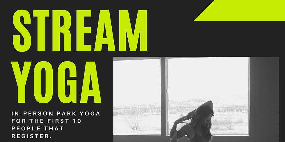 Park + Virtual Yoga