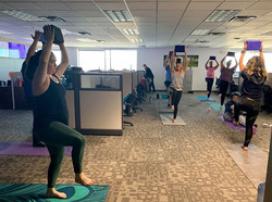 Corporate Group Yoga