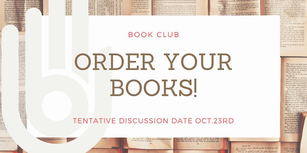 Book Club- ORDERS!