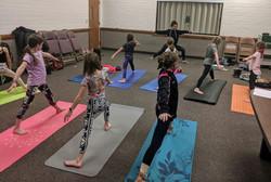 Young Women's Yoga