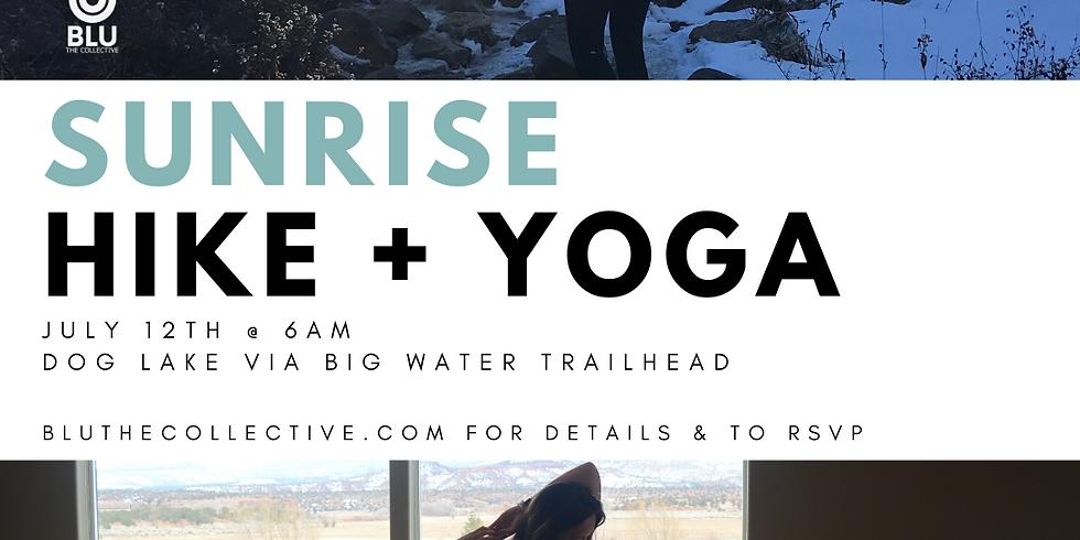 Sunrise Hike + Yoga