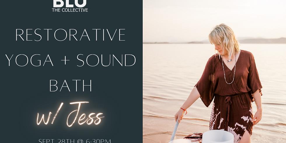 Restorative Yoga + Sound Healing
