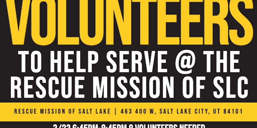 Serve @ Rescue Mission of Salt Lake