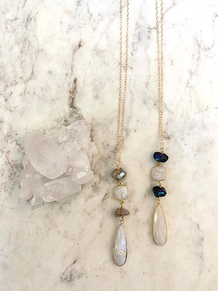 Moonstone Luxe Necklace