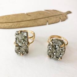 Pyrite Rings