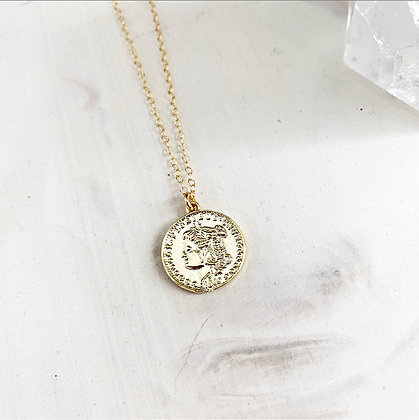 London Coin Necklace