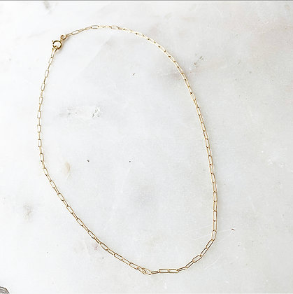 Link Chain Shortie Necklace