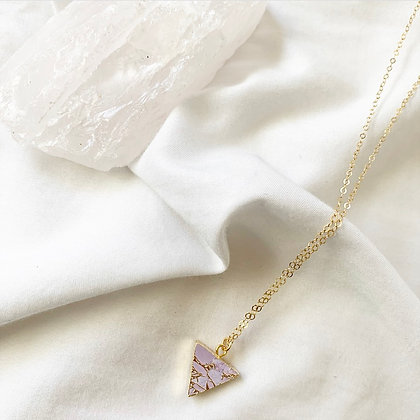 Pink Electro Necklace