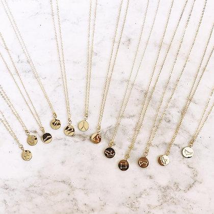 Birth Month Constellation Necklace