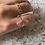 Thumbnail: Dainty Pink Tourmaline Ring