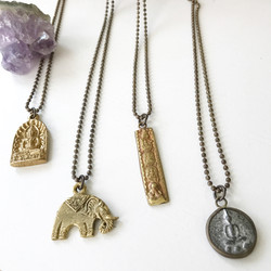 Serenity Necklaces. All different amulets, straight from Thailand.