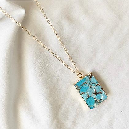 Turquoise Electro Necklace