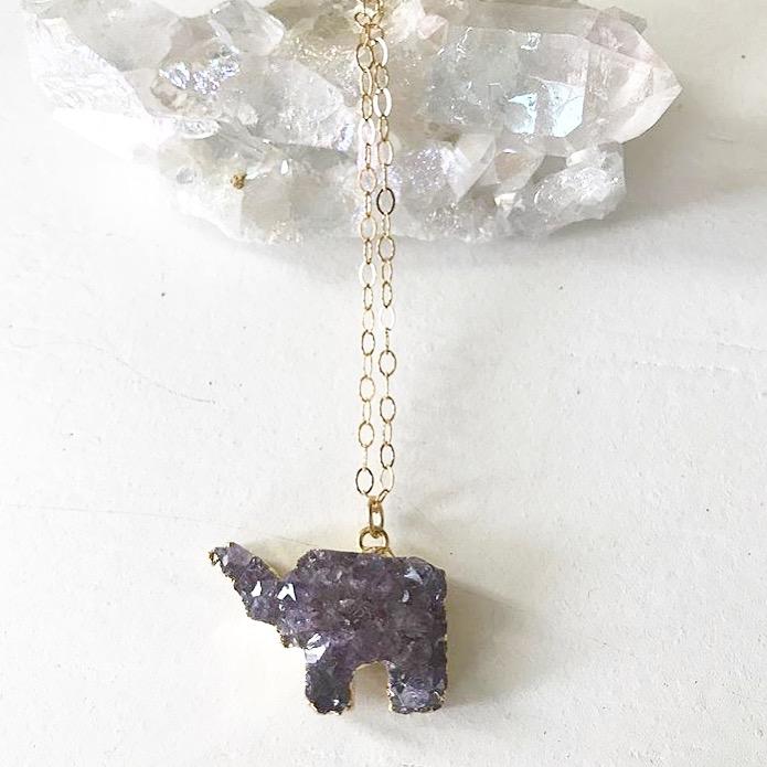 Elephant Druzy
