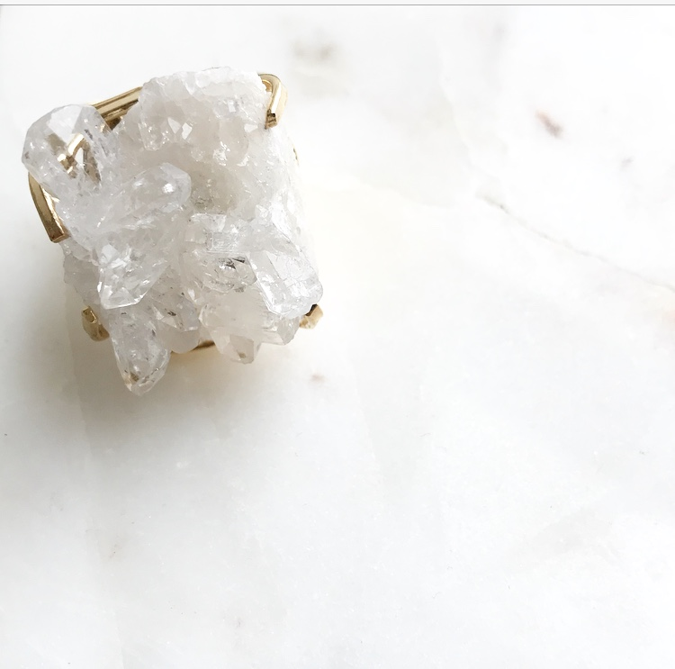 RMJ Brazilian Quartz Ring