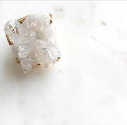 RMJ Brazilian Quartz Ring