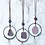 Thumbnail: Boho Druzy Hoop Necklaces