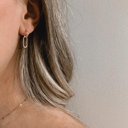 Paperclip Earring