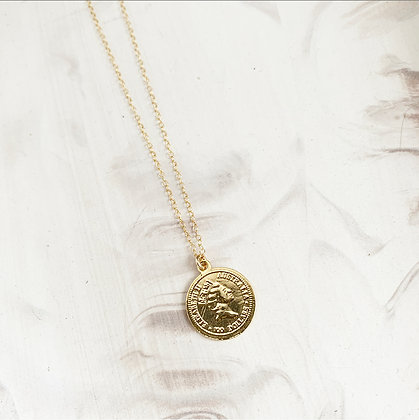 The Crown Coin Necklace
