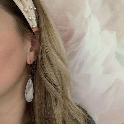 Luxe Moonstone Earrings