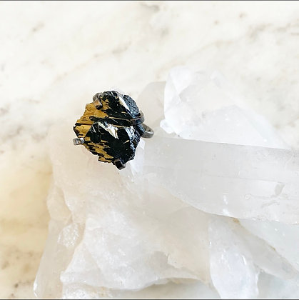 Rutilated Quartz Ring - One of a Kind
