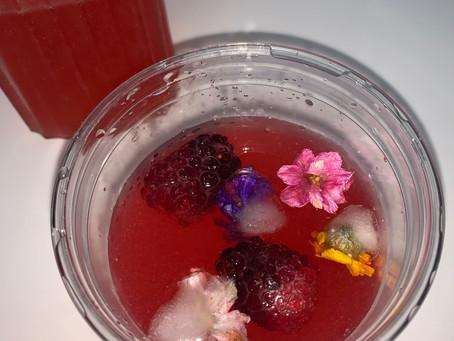 Raspberry Mocktail