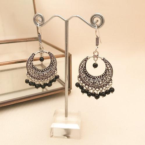 Oxidised Earrings 1