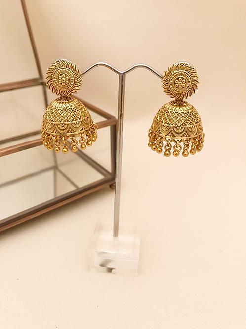 Small Gold Jhumka