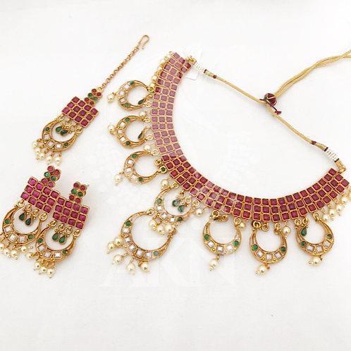 Multi Kemp necklace set