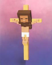 SEPAND DANESH - JESUS - 80X60CM - 2019