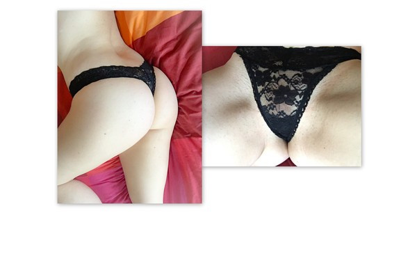 JS Wide-Banded Lace Thong