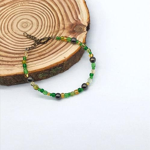 Bracelet Colora -Vert