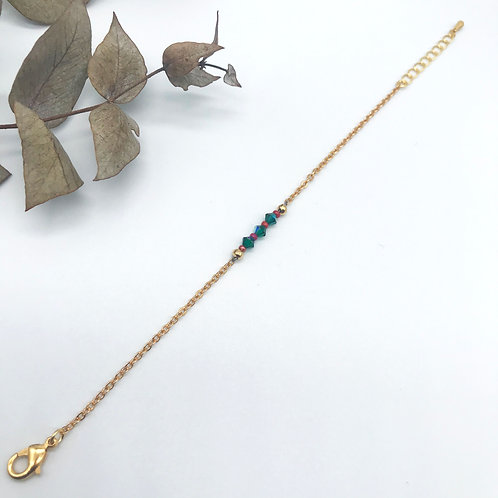 Bracelet Nina Vert/rouge