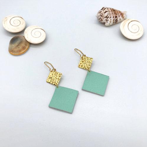 Boucles d'oreilles Elena - Mint