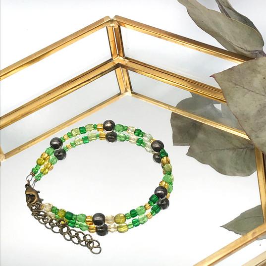 Bracelet colora - Vert