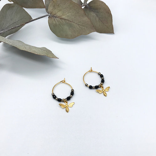 Boucles d'oreilles Honey