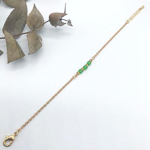Bracelet Nina Vert/jaune