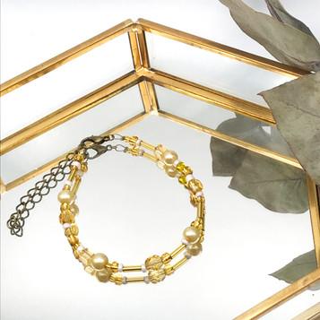 Bracelet Colora - Jaune