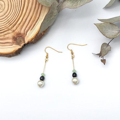 """Boucles d'oreilles de la collection """"Les Rescapés"""""""