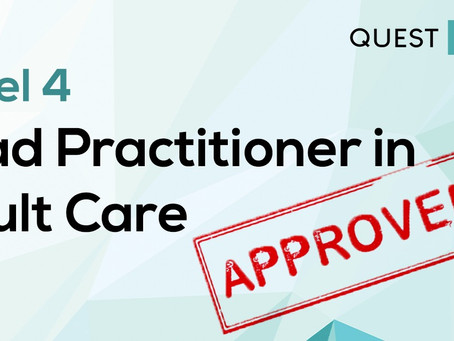 Lead Practitioner in Adult Care Level 4 EPA Approved